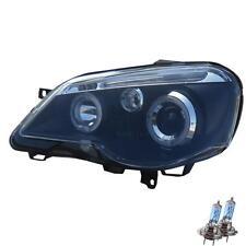 Set FANALI VW POLO IV 4 9n3 05-09 Angel Eyes Vetro Chiaro/Nero 1100679