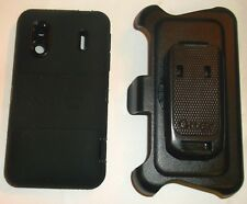 Otterbox Defender Case for HTC HERO S & EVO Design 4G + Holster Belt Clip, Black