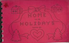 * Osceola Ia 1990 St Bernard'S Catholic Church Cook Book * Home For The Holidays
