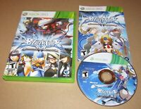 BlazBlue: Continuum Shift for Xbox 360 Complete Fast Shipping!