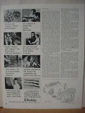 1965 Daisy BB B.B Gun 20 Shots for a Penny Vintage Print Ad 10592
