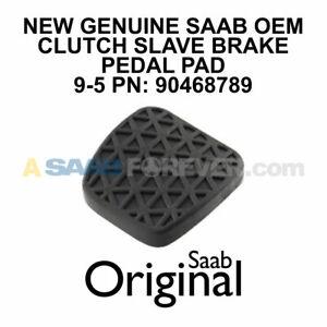 SAAB 9-5 Brake Clutch Pedal Pad NEW GENUINE OEM 9-5 1999-2009 90468789