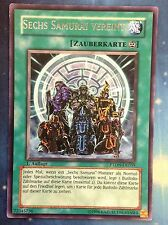 Yugioh Six Samurai United German PTDN-DE059 1st Rare Near Mint Fast Shipping!