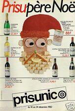 Publicité advertising 1983 Les Produits Prisunic