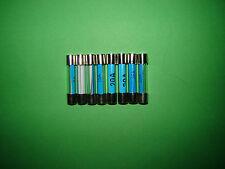 Classic Austin Mini Glass Fuses Mixed Values 2 x  5A 15A 20A 35A  total 8 fuses