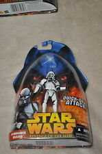 STAR WARS REVENGE OF THE SITH COMMANDER BACARA #49 QUICK-DRAW ATTACK MOSC