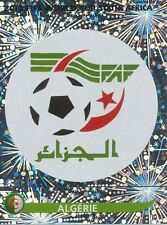 N°221 LOGO ECUSSON BADGE # ALGERIE STICKER PANINI WORLD CUP SOUTH AFRICA 2010