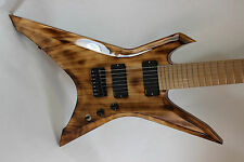 Custom Basswood 7 String XP Guitar Body and Neck. EMG Gotoh Hipshot Ready