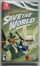 Sam & Max Save the World - Nintendo Switch - Limited Run Games LRG#104 NEU