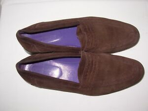 ADIGE Mocassins daim marron P.37,5