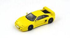 Spark 1/43 S2246 : Venturi 400 GT Twin Turbo V6 400HP 1994 Yellow /Black Inside