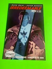 Boom IRREDEEMABLE #1 Limited Edition 500 Variant 1st Print Comic MOVIE Soon