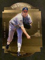 GREG MADDUX 1997 Upper Deck Star Attractions Gold Die Cut Braves Cubs HOF