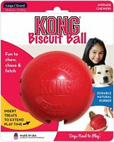 KONG Bisquit Ball Dog Toy Red Large   Free Shipping