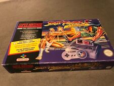 VINTAGE 1993 STREET FIGHTER II TURBO SUPER NINTENDO CONSOLE SUPER NES SNES BOXED