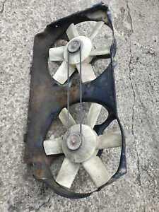 Audi 80, 1990, Diesel Engine, Water Cooling Radiator Fan Motor, 0130109228