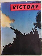 1944 VICTORY Seconda Guerra Mondiale WWII Conferenza di Mosca Campagna d'Italia