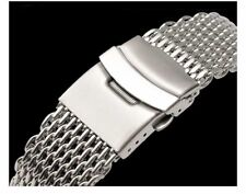 MILANESA SHARK MESH Correa Acero InoxIdable Stainless steel Band 22mm 22 mm