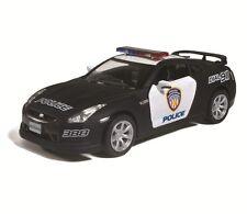 "5"" Kinsmart Diecast Nissan GT-R (R35) Police Car 1:36 KT5340DP GTR Model Fun"