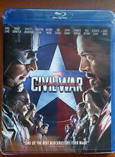 Captain America: Civil War (Blu-ray Disc, 2016)