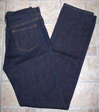 UNIQLO skinny jeans 26x31 dark blue denim jrs slim 26 31 taper 60 straight leg