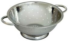33 cm Stainless Steel Colander Strainer with Handle Spaghetti Pasta Salad Food