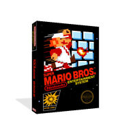 - Super Mario Bros NTSC NES Replacement Game Case Box + Cover Art Work Only