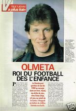 Coupure de presse Clipping 1991 (3 pages) Pascal Olmeta