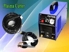 50A plasma cutter  & PT31 cutting torch & 20pcs consumables & 1-14mm cut thick