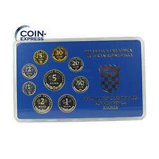 *** KUNA KMS KROATIEN 2005 PP Polierte Platte Croatia Coin Set Kursmünzensatz **