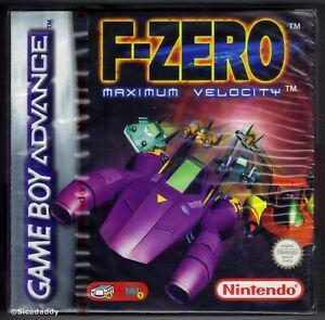 GBA F-Zero: Maximum Velocity , New & Nintendo Factory Sealed, Mint/Nr Mint