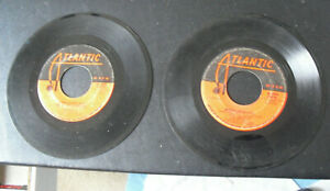 Lot of 2 45 RPM Records Led Zeppelin Whole Lotta Love Living Loving Maid