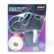 Monarch Paxar Two Line Price Tag Sticker Gun 1130 Label Rolls Open Box Tested
