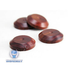 "1 pc Pad 33mm 1.3"" Rosewood  Wooden Speaker Isolation Spike Wood Stand Foot"