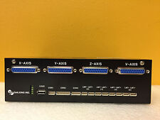 Saejong Ind. SBR-200 4 Axis, Motor Controller, For Fisnar Robots. Tested + New!