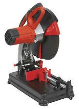 "NEW Sealey 355mm 14"" Metal Abrasive Chop/Mitre Cut Off Saw + Blade 240v SM355D"