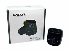 CARX8 Bluetooth Car Kit MP3 FM Transmitter Dual USB Car Charger Wireless headset