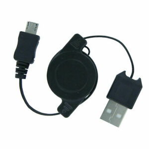 Tangle Free Retractable Micro USB Charging Data Cable for Micro USB Androids