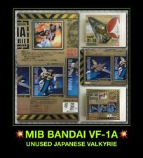 NEW USA* Bandai '02 Macross VF-1A Valkyrie Fighter Macross Robotech Transformers