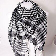 PLO Pali Tuch schwarz weiß Palästinensertuch Schal kariert Arafat