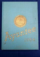 Jesse Jackson Sr. Senior Year, 1964 North Carolina A & T Yearbook Ayantee