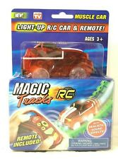 Magic Tracks Light-Up R/C Car & Remote w/ Sound Effects Muscle Car BRAND NEW