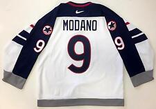 MIKE MODANO 1998 NAGANO OLYMPICS TEAM USA NIKE AUTHENTIC JERSEY SIZE 52 NEW