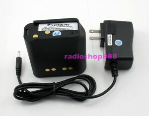 Li-ion Battery For Motorola Astro Saber Radio +Charger Syste