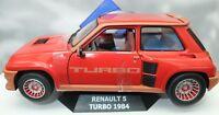 MODELLINO AUTO SCALA 1:18 RENAULT 5 R5 TURBO DIECAST CAR MODEL MINIATURE SOLIDO