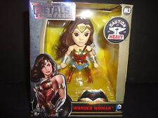 "Jada Wonder Woman Movies 2016 Batman v Superman Figures 4"" Metal"