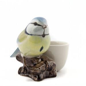Quail Ceramics    Egg Cup With Blue Tit