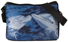 Dolphin Messenger Bag -Support  Wildlife Conservation- From my Painting The Kiss