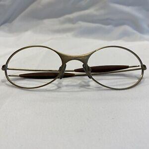 Genuine Oakley E Wire Matte Gold Eyeglasses Frames