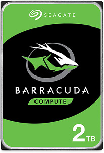 "Seagate BarraCuda, 2 To, Disque dur interne HDD – 3,5"" SATA 6 Gbit/s 7 200 tr/mi"